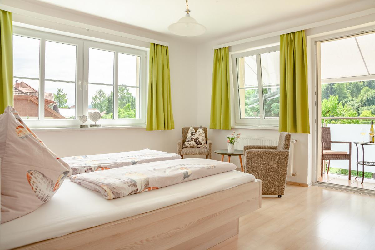 Apartments Haus Elisabeth Fewo B Schlafzimmer